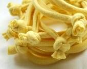 Cotton Jersey Fabric Bracelet Cuff - by LimeGreenLemon