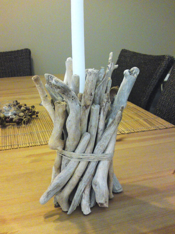 Driftwood Candle Holder  - Ready to ship