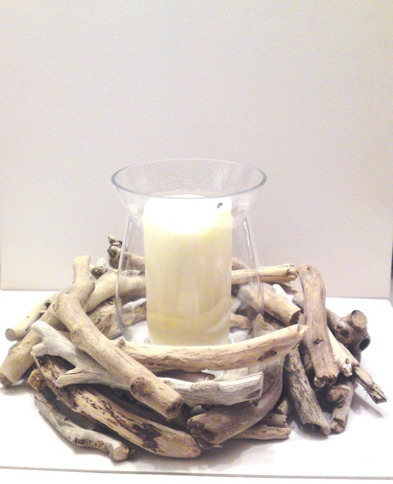 Unavailable listing on etsy for Driftwood centerpiece