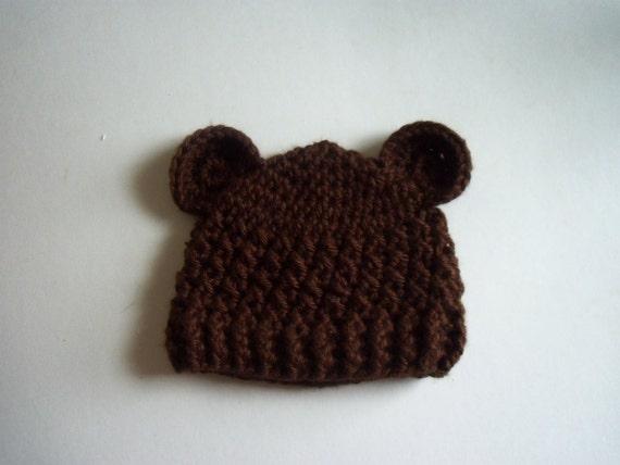 Crochet Baby Boy Hat Baby Bear Hat Crochet Hat With Ears