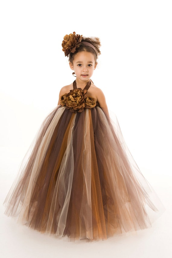Brown flower girl dresses cheap - All Pictures top