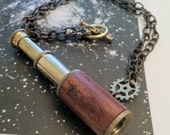 Galileo's Little Astronomer Telescope Necklace