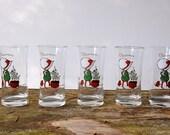 Holly Hobby Christmas Glasses