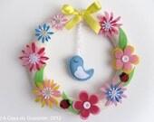 Spring Wreath - Flowers