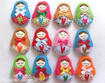 Matrioska doll - Set of 12