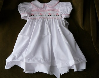 Hand Smocked Girls Dresses  ......Baby Carriages.....By The My Collection 2