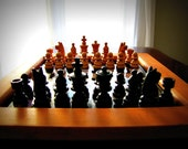 1980's Beautiful Vintage Chess Set