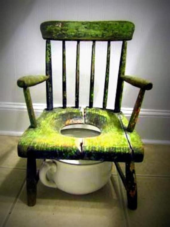Vintage Children's Potty Training Chair