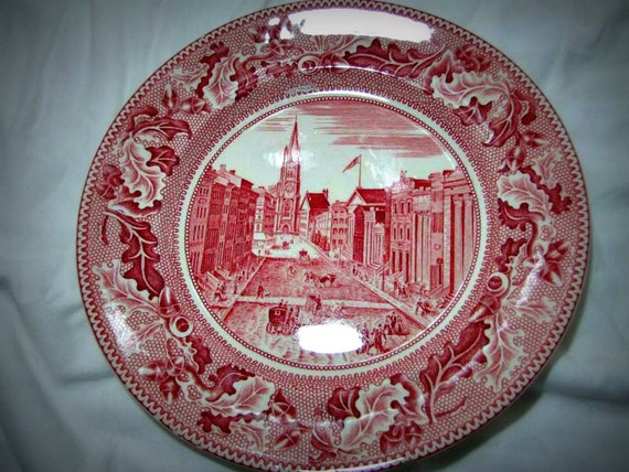 Johnson Brothers China - Historic America - Wall Street New York