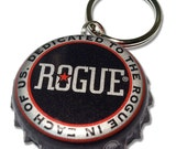 Rogue Brewing Beer Bottle Cap Customizable ID Tag