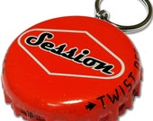 Beer Bottle Cap ID Tag - Session Beers