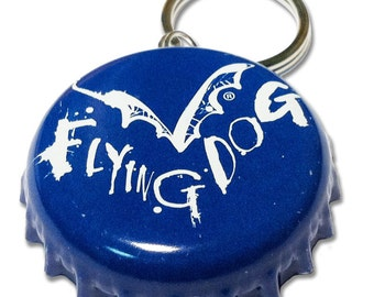 Beer Bottle Cap ID Tag - Flying Dog Brewing