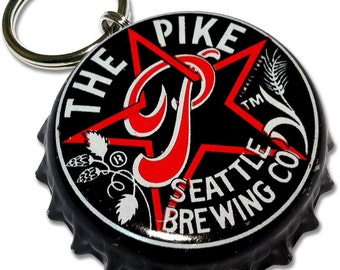 The Pike Brewing Co. - Beer Bottle Top ID Tag