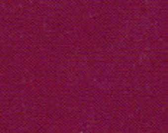 "42-44"" Wine Red Cotton Broadcloth-20 Yards Wholesale by the Bolt"