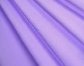 """58-60"""" Lilac Shiny Tricot-12 Yards Wholesale by the Bolt"""