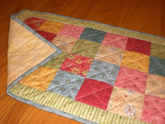 Table Runner in bright cheery colors