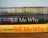 Tell Me Why, 3 Book Set, by Arkady Leokum