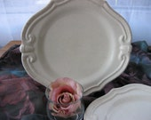 Pretty little Shabby Chic Desert Plates