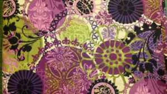 Purple FLORAGRAPHIX by In The Beginning Fabrics