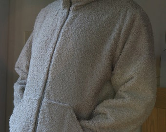 Chenille Jacket in Pale Green