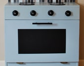Play Stove with Chalkboard 'Window'