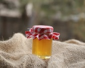 Personalized Honey Jar Favors - 2.0 ounce Hexagon With Sweet Raw Honey From the Beehive State