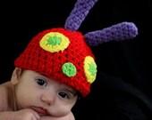 Munch the Caterpillar Crochet Pattern