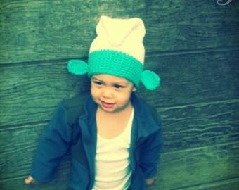 Blue Dude Crochet Hat Pattern