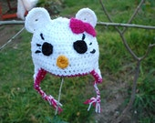 Hello Kitty Beanie Size 6-12 Months