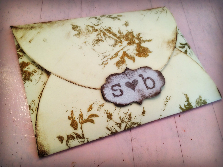 Fairytale Invitations Wedding: Items Similar To Embossed Wedding Invitation Gold Fairy