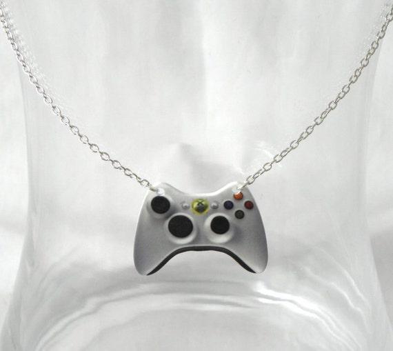 Girl Gamer Xbox 360 Video Games Controller Necklace