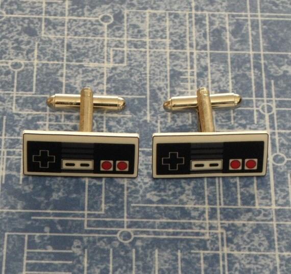 GAMER Nintendo NES Video Game Controller Cufflinks