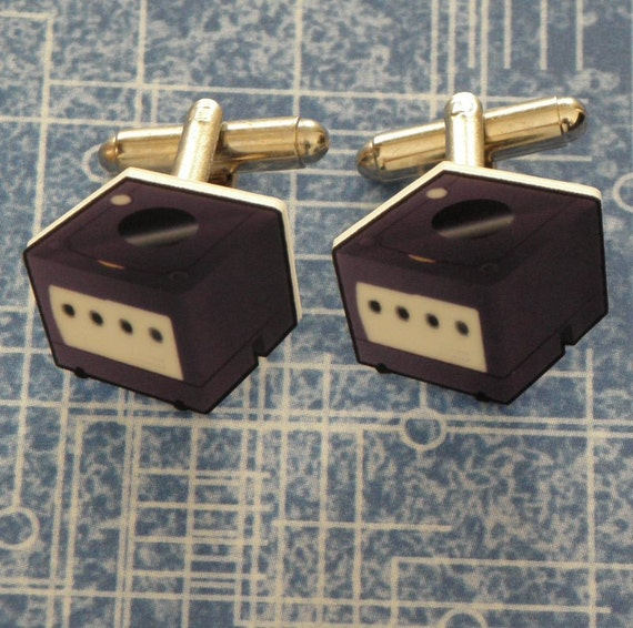 GAMER Nintendo Gamecube Video Game Console Cufflinks