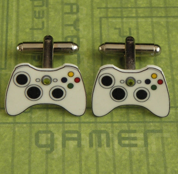 GAMER Xbox 360 Video Games Controller Cufflinks XBOX360