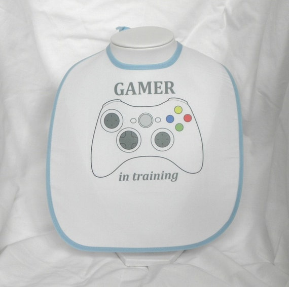 FAULTY STOCK - Xbox 360 GAMER In Training Xbox360 Baby Bib