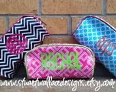 Personalized Cosmetic Bag, Bridesmaid gift