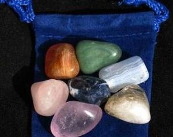 Balance and Healing Chakra Gemstone Kit - 7 Chakra Kit