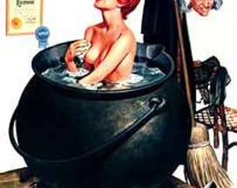 LoOKiNG For LuSt and LOvE ROmANCE WiTcH'S BATH SALTS