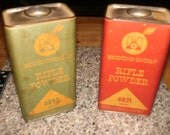 EMPTY , HODGDON Rifle Powder Cans or tins