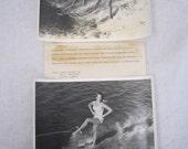 Vintage Press Photos Water Skiing