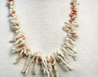 Fabulous Branch Angel Coral Necklace