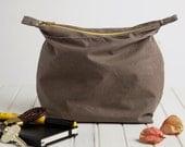 b a b o . Eco Friendly Wax Cloth Pouch . FREE SHIPPING