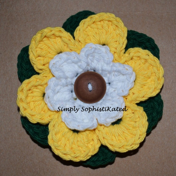 DaisyDo Ponytail Holder CROCHET PATTERN