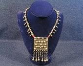 Ethiopian Heishi Necklace, Phallic Beads, Womens Jewelry