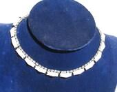 Vintage Kramer Rhinestone Necklace, Womens Jewelry, Vintage Necklace