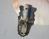 Handmade, Sterling Silver Brooch, Zubie Originals 1992, Womens Jewelry, Steampunk