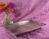 Westerman Silver Plate Footed Tray, Serving Platter, Home Decor