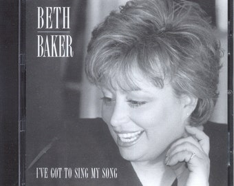 Beth Baker Cabaret Singer, Artist, We Can Be Kind