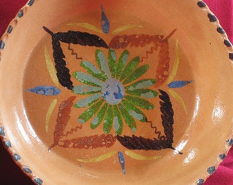 Mexican Pottery Bowls, Set of 4, Terracotta Pottery Bowls