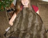 Nursing Cover - Animal Print - leopard